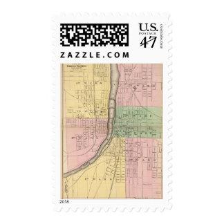 Ciudad de Grand Rapids, el condado de Kent Sello Postal