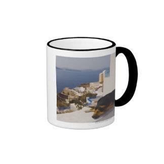 Ciudad de Grecia, isla de Santorini, Oia, el dormi Tazas