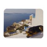 Ciudad de Grecia, isla de Santorini, Oia, el Imanes Rectangulares