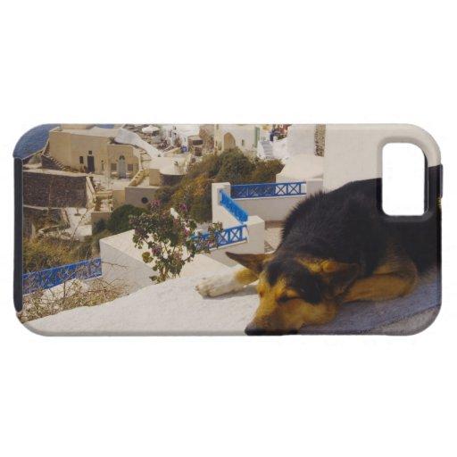 Ciudad de Grecia, isla de Santorini, Oia, el iPhone 5 Fundas