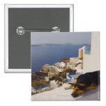 Ciudad de Grecia, isla de Santorini, Oia, el Pin Cuadrado