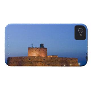 Ciudad de GRECIA, islas de Dodecanese, RODAS, iPhone 4 Case-Mate Protectores