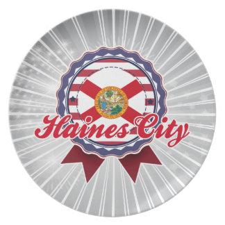 Ciudad de Haines, FL Plato De Comida