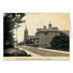 Ciudad de Hartford, Indiana 1910 Tarjetas