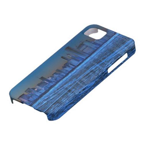 Ciudad de hombros amplios y del lago Michigan iPhone 5 Case-Mate Fundas