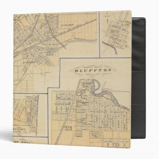 """Ciudad de Huntington, Huntington Co Carpeta 1 1/2"""""""