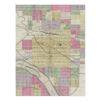Ciudad de Hutchinson, el condado de Reno, Kansas Tarjetas Postales