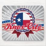 Ciudad de Knox, TX Alfombrilla De Raton