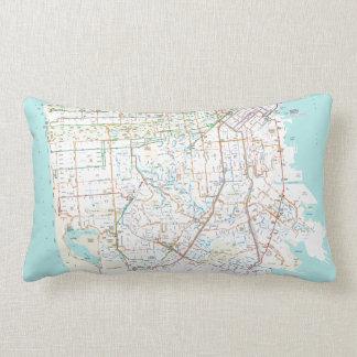 Ciudad de la almohada del mapa del tránsito de San