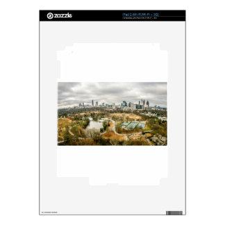 ciudad de la antena del horizonte de Atlanta Calcomanía Para El iPad 2