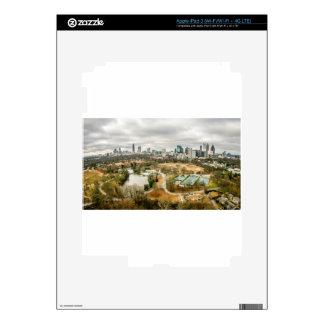 ciudad de la antena del horizonte de Atlanta Pegatinas Skins Para iPad 3