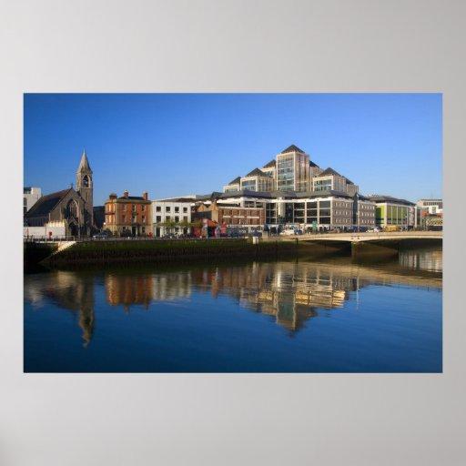 Ciudad de la arquitectura de Dublín Impresiones