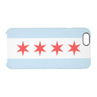 Ciudad de la bandera de Chicago Funda Clearly™ Deflector Para iPhone 6 De Uncommon