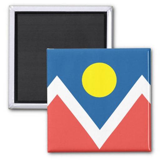 Ciudad de la bandera de Denver Iman De Nevera