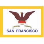 Ciudad de la bandera de San Francisco Escultura Fotográfica