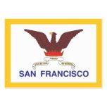 Ciudad de la bandera de San Francisco Plantillas De Tarjetas Personales