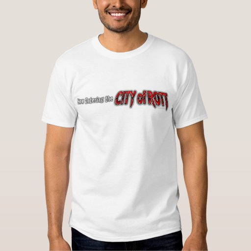 Ciudad de la camisa de la mercancía de Rott