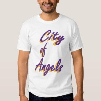Ciudad de la camiseta de los ángeles camisas