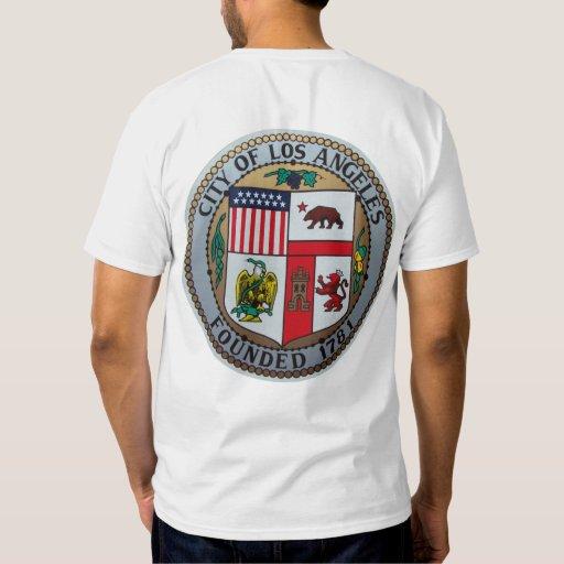 Ciudad de la camiseta de Los Ángeles Playeras