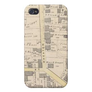 Ciudad de la casa del estado de Providence iPhone 4 Carcasas
