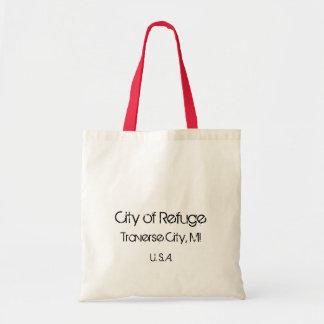 Ciudad de la ciudad de la travesía del refugio, MI Bolsa De Mano