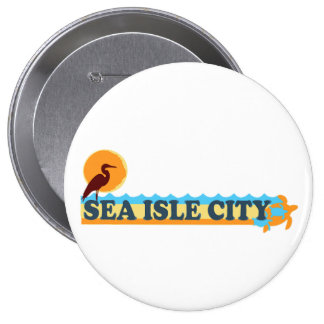 Ciudad de la isla del mar pin