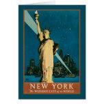 Ciudad de la maravilla de Nueva York del mundo Tarjetas