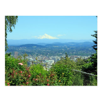 Ciudad de la montaña escénica, Portland, O Tarjeta Postal