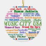 Ciudad de la música de Nashville Adorno Para Reyes