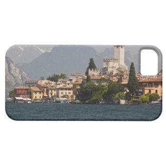 Ciudad de la orilla del lago Malcesine provincia iPhone 5 Protectores