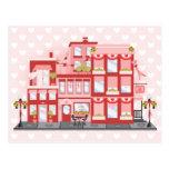 Ciudad de la tarjeta del día de San Valentín Postal