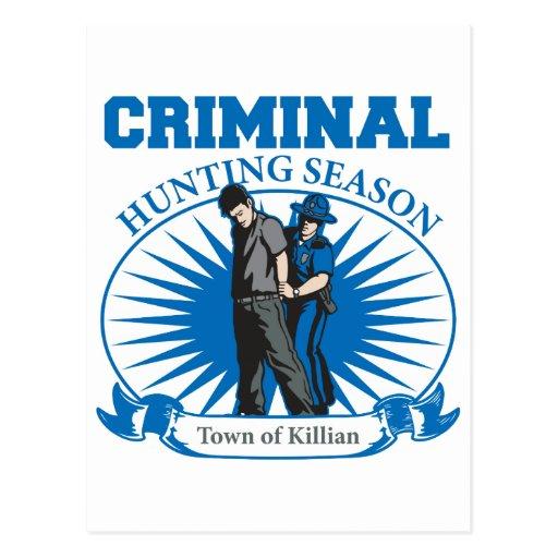 Ciudad de la temporada de caza del criminal de Kil Postal
