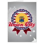 Ciudad de la unión, NJ Felicitacion