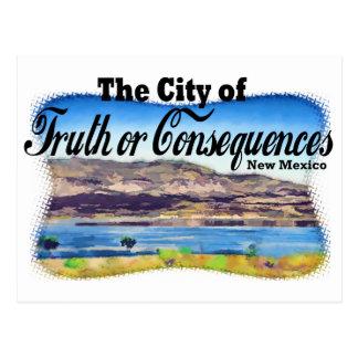 Ciudad de la verdad o de las consecuencias postal