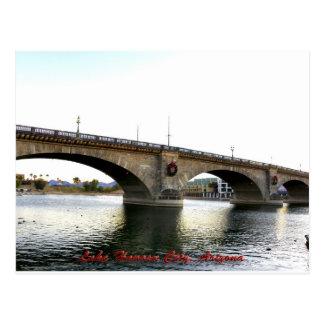 Ciudad de Lake Havasu del puente de Londres, Arizo Tarjeta Postal