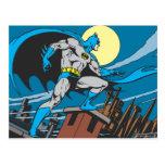 Ciudad de las encuestas sobre Batman Tarjeta Postal
