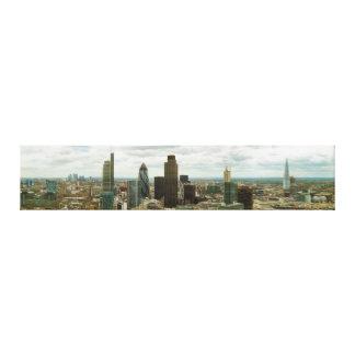 Ciudad de Londres Inglaterra vista de punto de la  Impresiones En Lienzo Estiradas