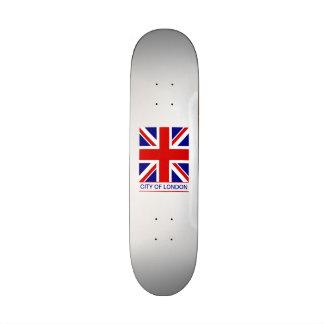 Ciudad de Londres - la bandera de Union Jack Patines