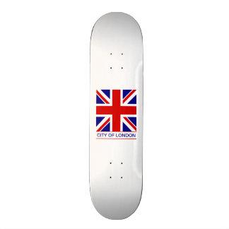 Ciudad de Londres - la bandera de Union Jack Tablas De Patinar