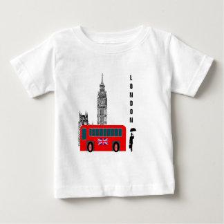 Ciudad de Londres Playera De Bebé