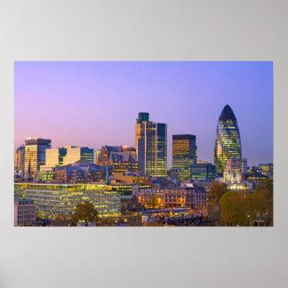 Ciudad de Londres Póster