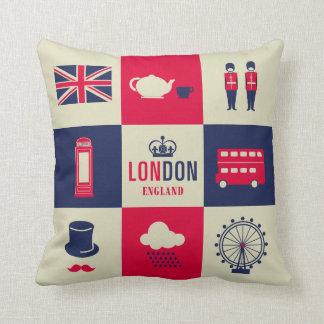 Ciudad de Londres Reino Unido Inglaterra 2 echada Cojines