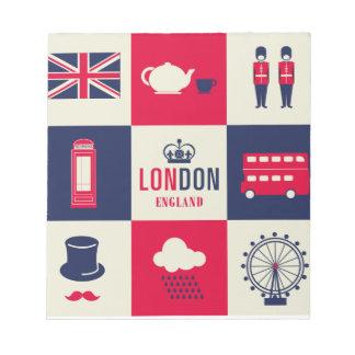 Ciudad de Londres Reino Unido Inglaterra Libretas Para Notas