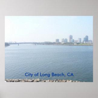 Ciudad de Long Beach Póster