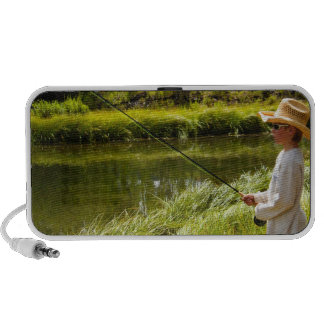 Ciudad de los E.E.U.U., Colorado, lago, pesca con  iPhone Altavoz