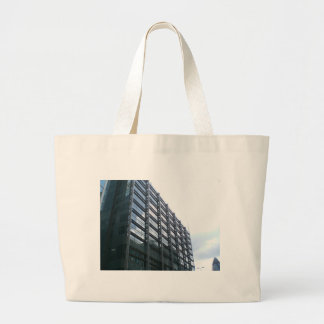 Ciudad de los edificios de Londres Bolsa Tela Grande