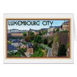 Ciudad de Luxemburgo Felicitación