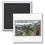 Ciudad de Luxemburgo Imán Para Frigorifico