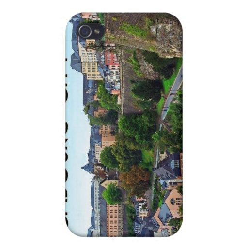 Ciudad de Luxemburgo iPhone 4/4S Carcasa