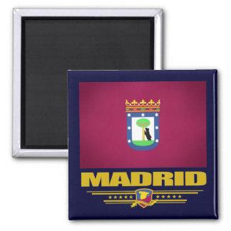 Ciudad de Madrid Imán Cuadrado